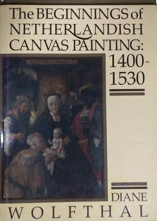 """The Beginnings of Netherlandish Canvas Painting"" Book Cover"