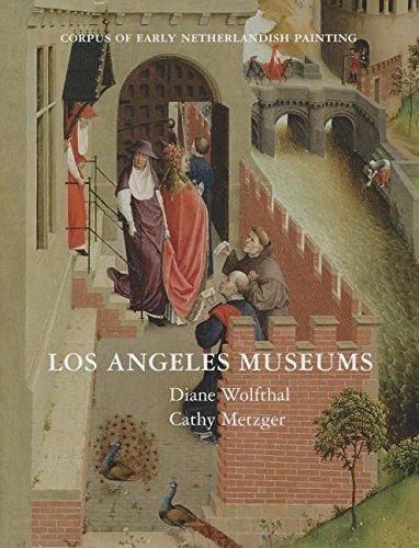 """Corpus of Early Netherlands Paintings. Los Angeles Museums"" Book Cover"